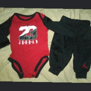 Jordan onesie with joggers